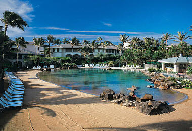 The Point at Poipu, pool